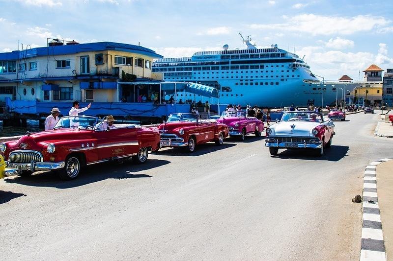 MSC Armonia in port at Havana, Cuba
