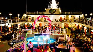 Azamara Journey Pool Party