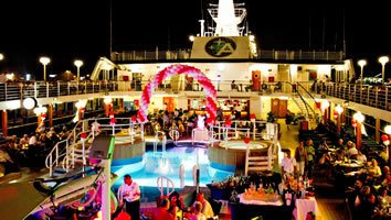 Azamara Quest Pool Party