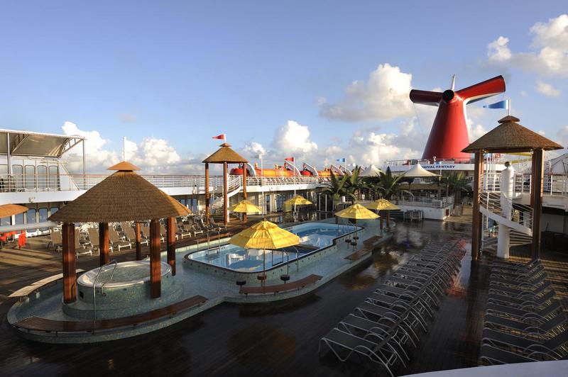 Carnival Fantasy Lido Pool