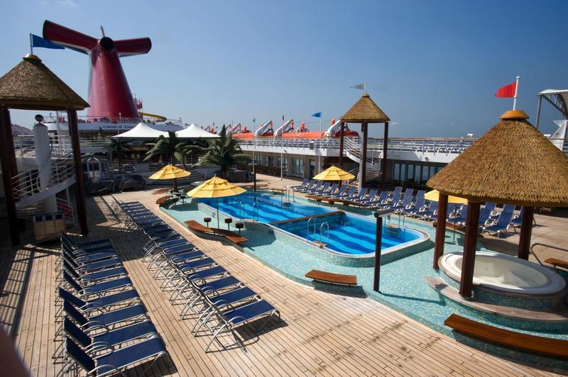 Carnival Fascination Resort Lido Pool