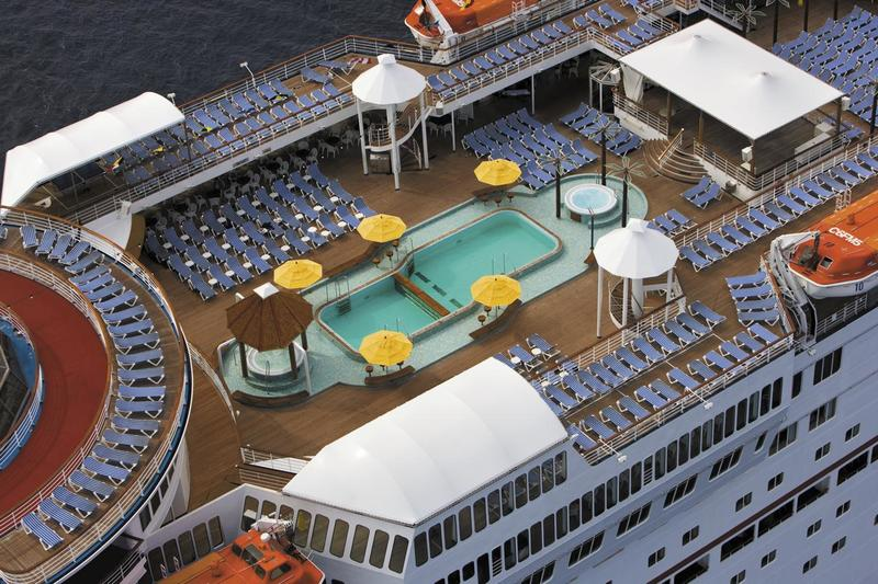 Carnival Imagination Lido Pool