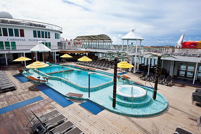 Carnival Inspiration Pool Lido