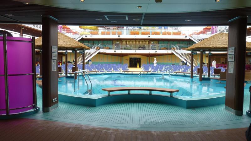 Carnival Magic Beach Pool Area