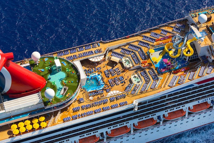 Carnival Sunrise Deck