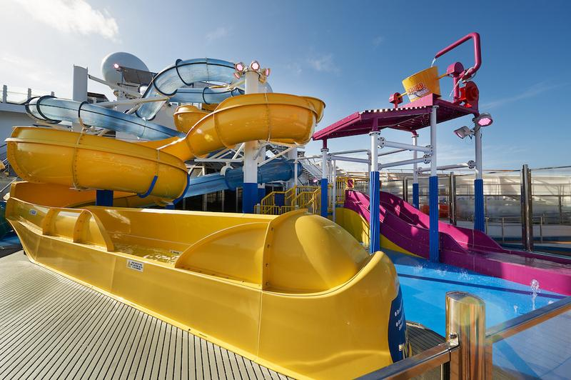 Carnival Sunrise Pool