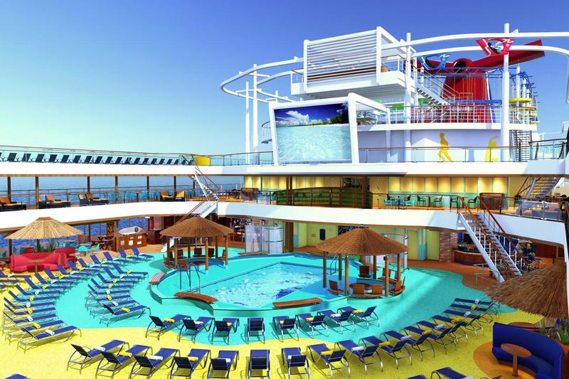 Carnival Vista Beach Resort Pool