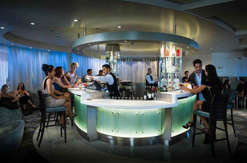 Celebrity Millennium Martini Bar
