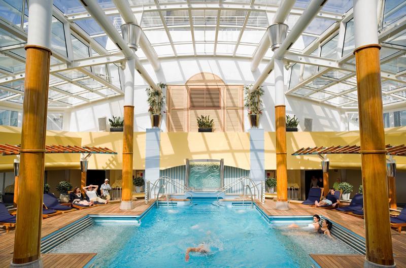 Celebrity Millennium Solarium Pool