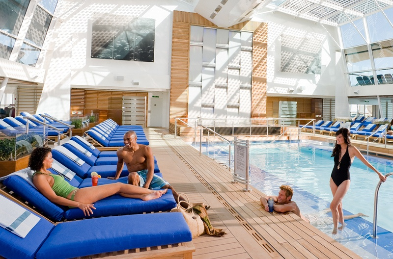 Celebrity Reflection Solarium Pool