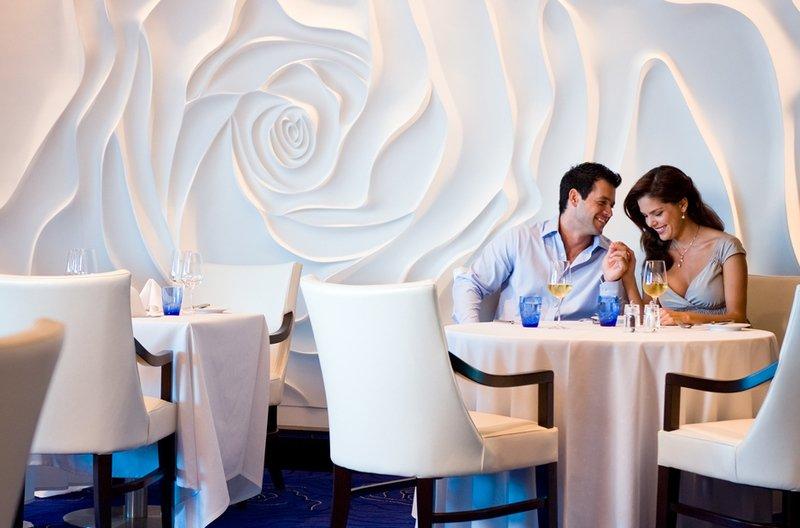 Celebrity Reflection Blu Restaurant