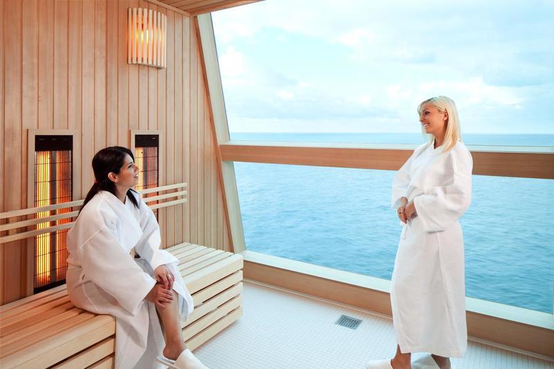 Celebrity Reflection Infrared Sauna
