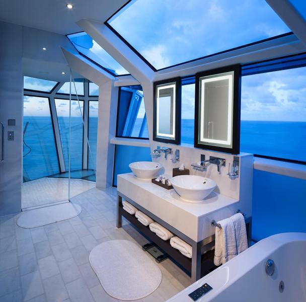 Celebrity Reflection Suite Bath