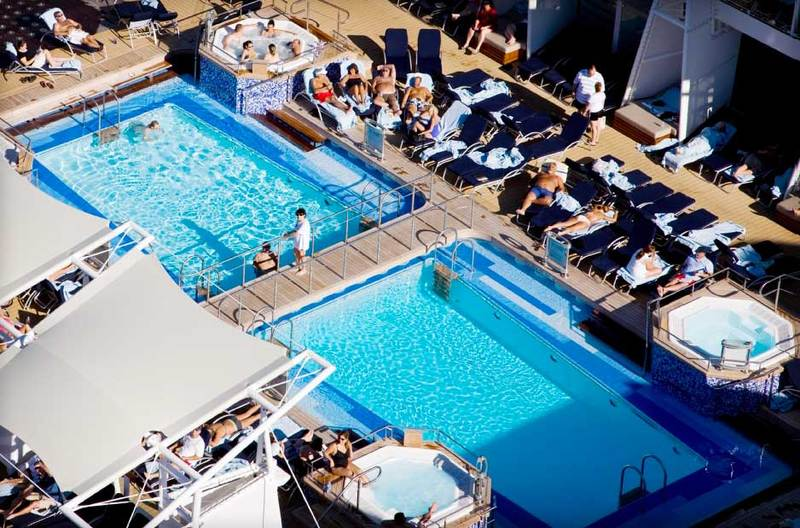 Celebrity Solstice Solarium Pool