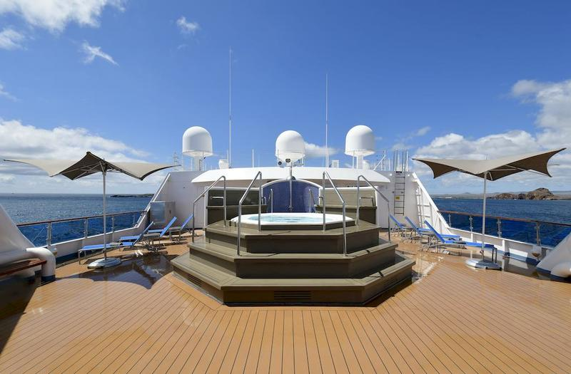 Celebrity Xpedition Sundeck Jacuzzi