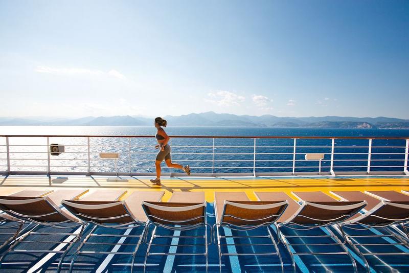 Costa Pacifica Deck