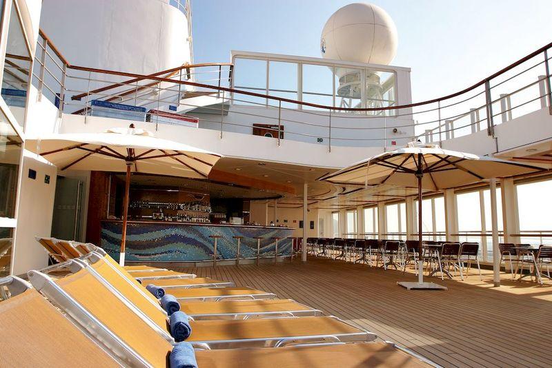 Costa Cruise Deck