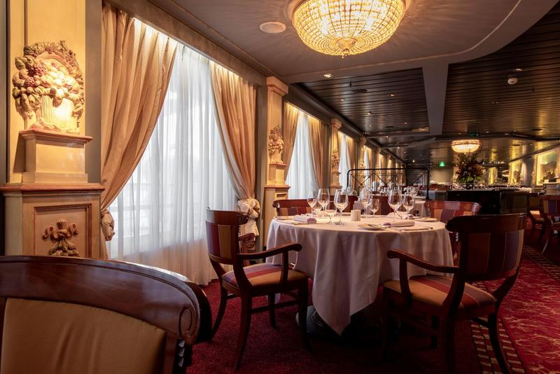 Crystal Serenity Restaurant Prego