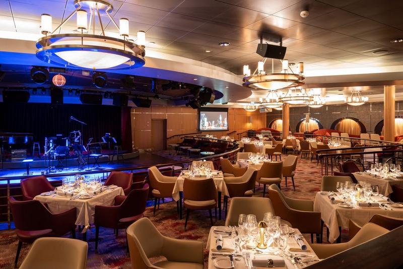 Crystal Serenity Restaurant Supper Club