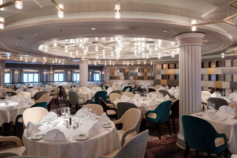 Crystal Serenity Restaurant Waterside