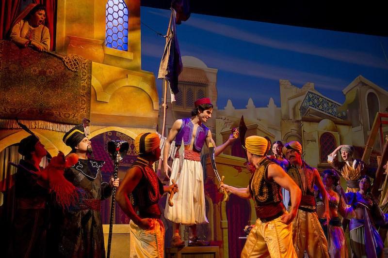 Disney Dream Show Entertainment Aladdin