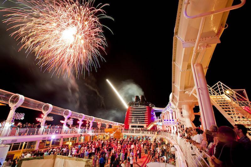 Disney Dream Event Buccaner Blast Fireworks at Sea