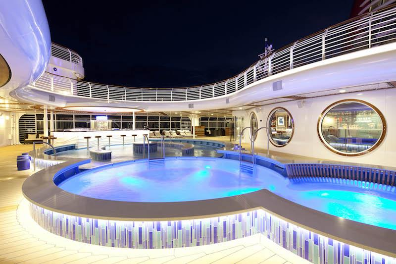 Disney Dream Quiet Cove Pool