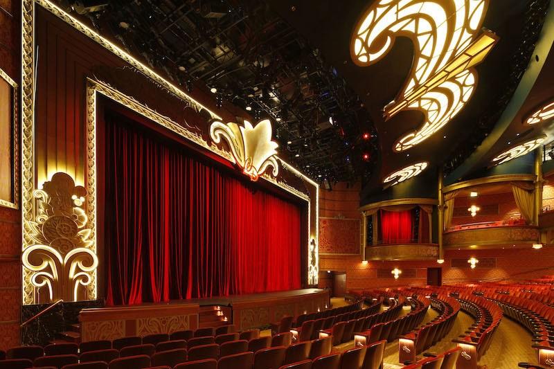 Disney Fantasy Entertainment Walt Disney Theater