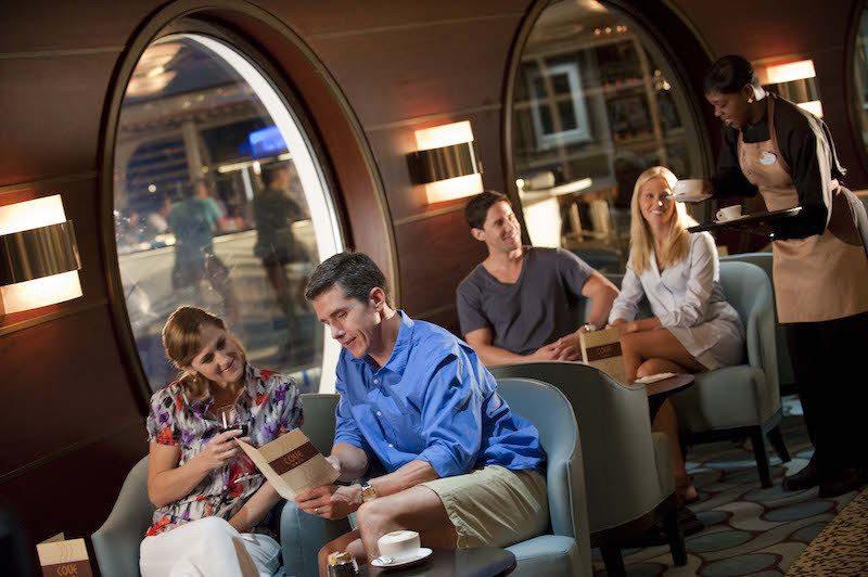 Disney Fantasy Cafe Cove Café