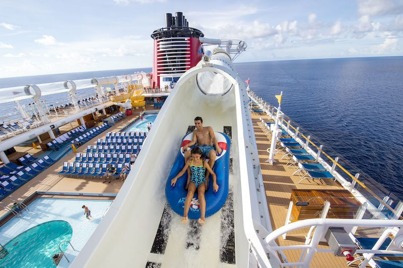 Disney Fantasy Pool AquaDuck Water Coaster