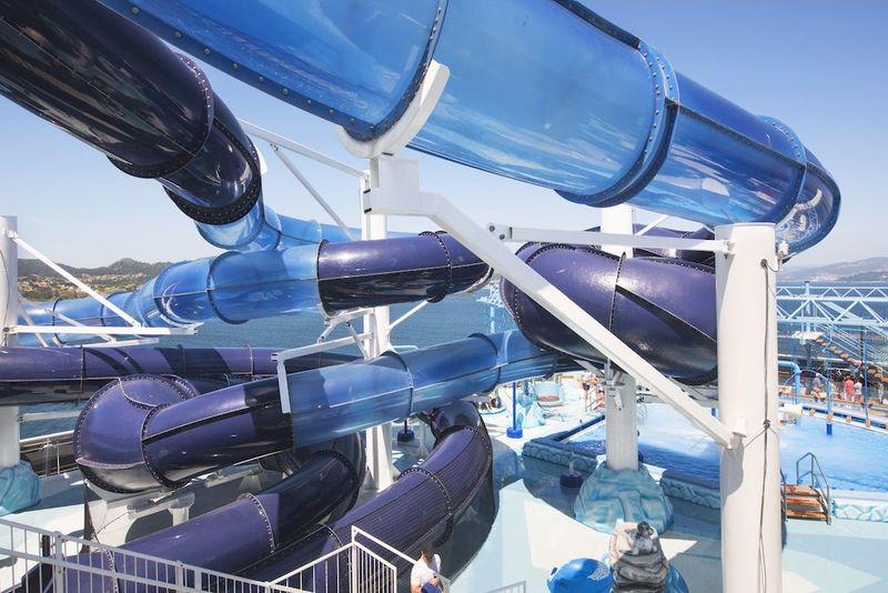 MSC Grandiosa Polar Aquapark