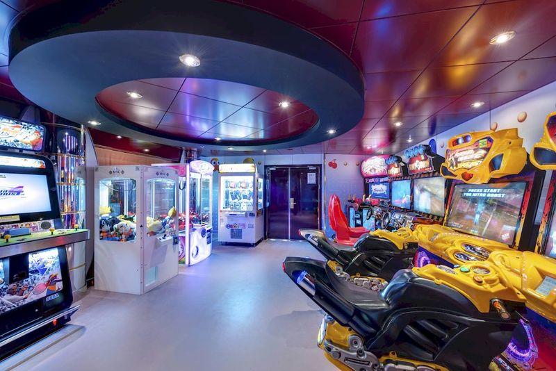 MSC Lirica Virtual Arcade
