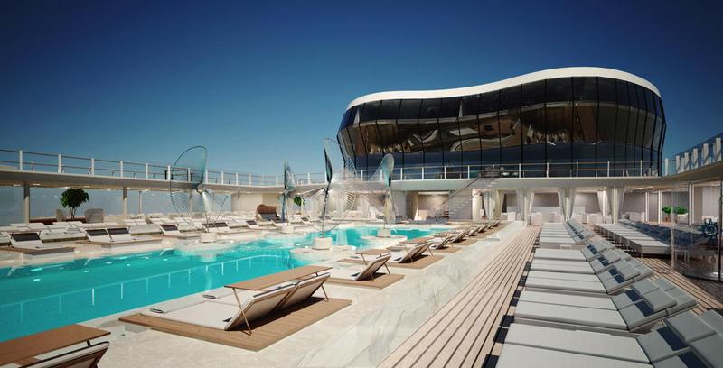 MSC Meraviglia Pool