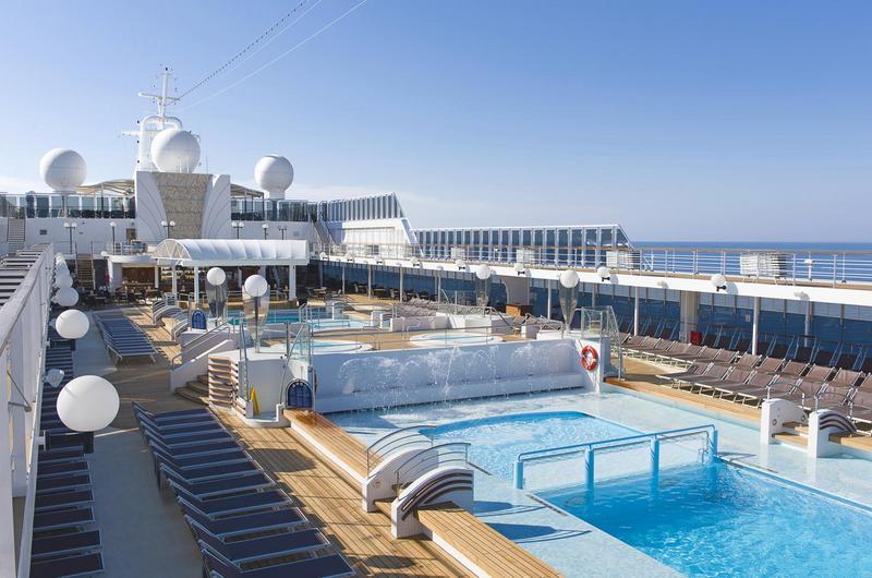 MSC Opera Pool Deck