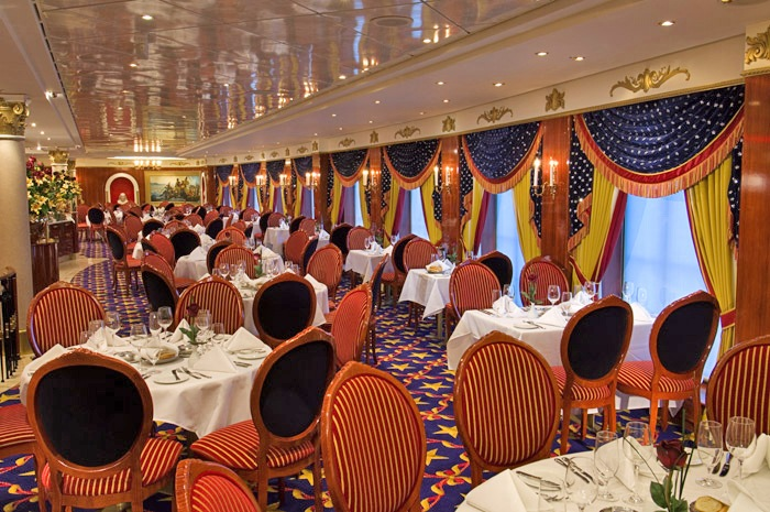 Norwegian Pride of America Liberty Main Dining Room