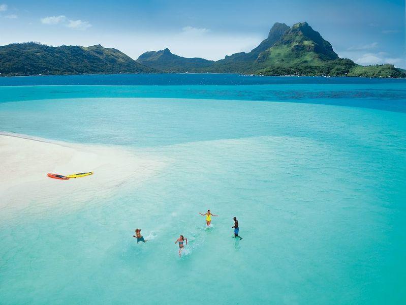 Paul Gauguin Private Beach Bora Bora