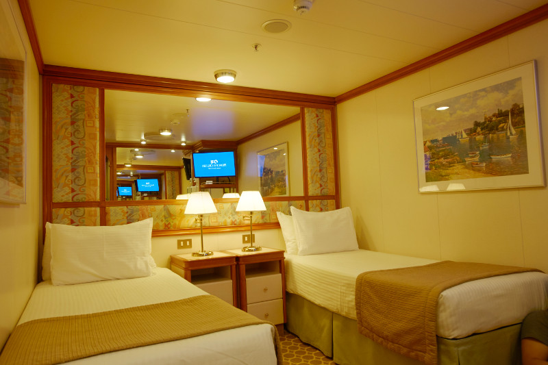 Sea Princess Interior Stateroom