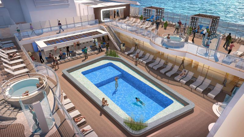 Sun Princess Pool