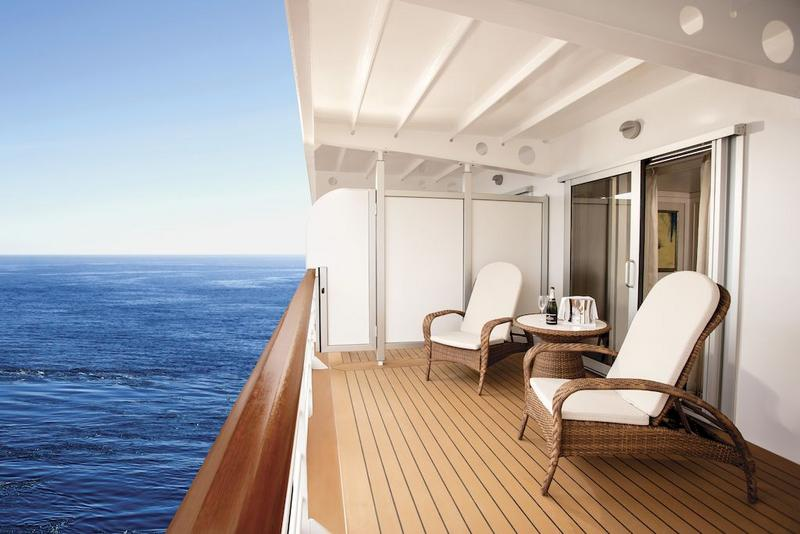 Seven Seas Explorer Concierge Suite Balcony