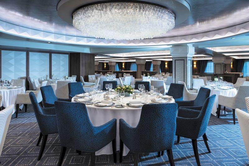 Seven Seas Mariner Compass Rose Restaurant