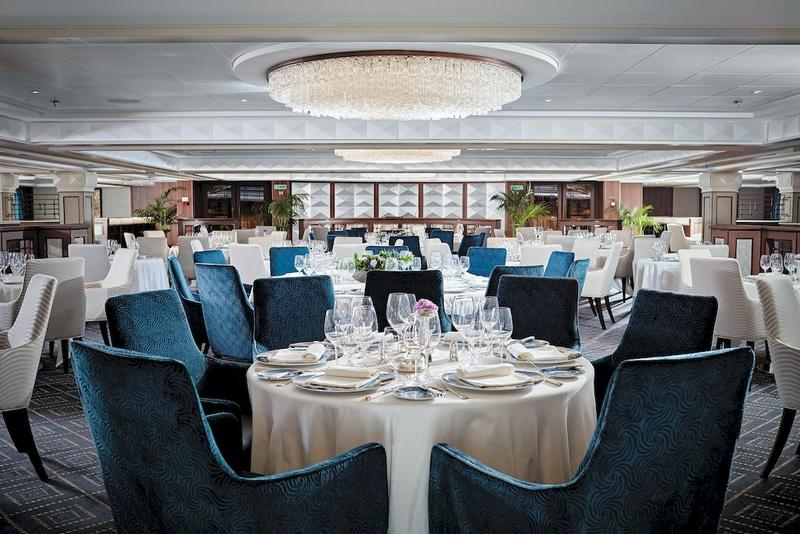 Seven Seas Navigator Compass Rose Restaurant