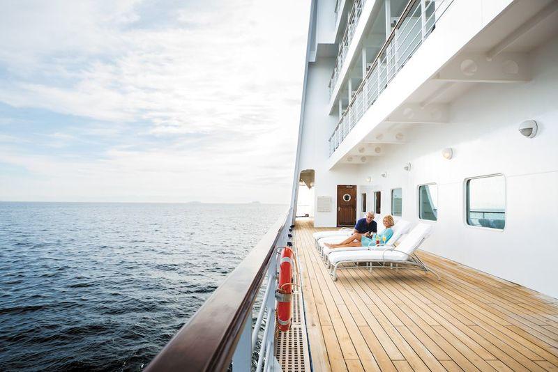 Seven Seas Voyager Deck