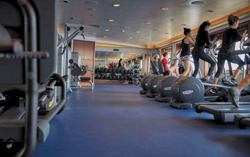 Seven Seas Voyager Gym