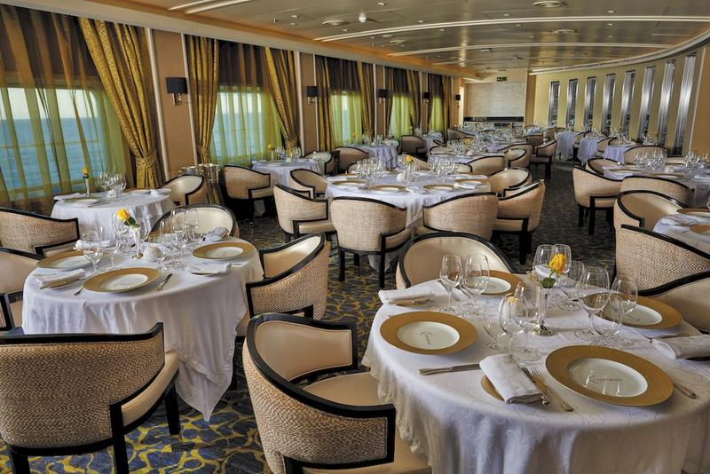 Seven Seas Voyager Chartreuse Restaurant