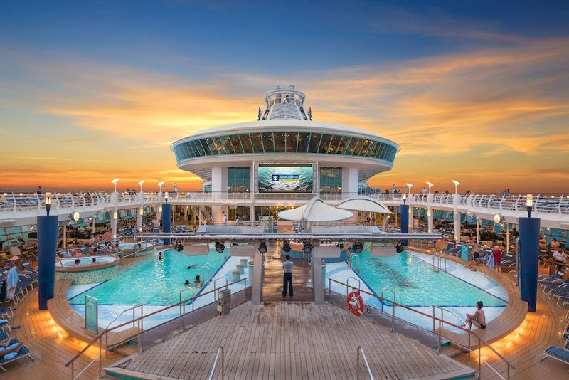 Adventure of the Seas Pool