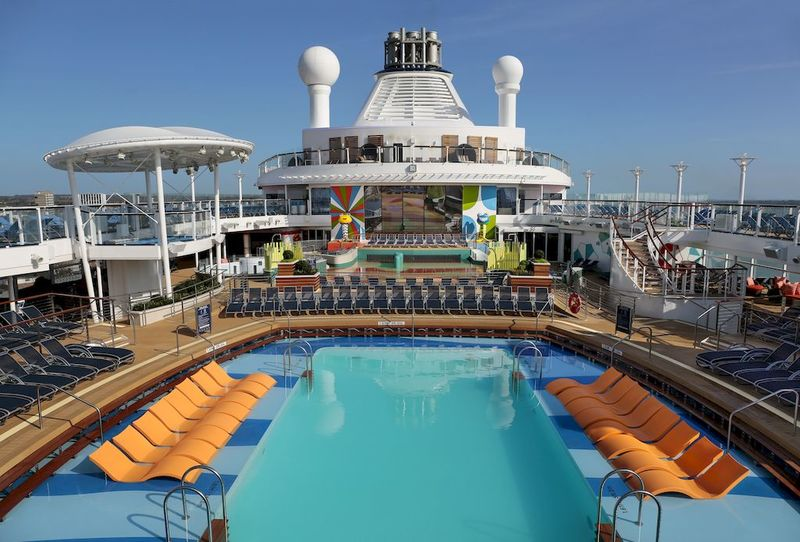 Anthem of the Seas Pool Deck