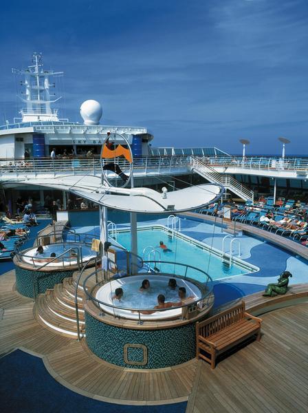 Brilliance of the Seas Pool Deck