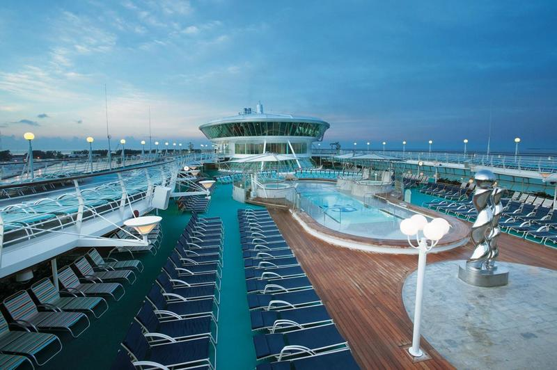 Enchantment of the Seas Solarium Pool Deck