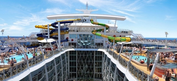 Harmony of the Seas Pooldeck