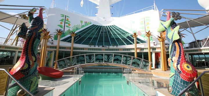 Independence of the Seas Solarium Pool